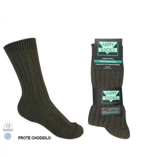 ARMY zimní ponožky s vlnou 845a9cab89