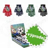 Chlapecké rukavice s ABS FOTBAL Cenová akce