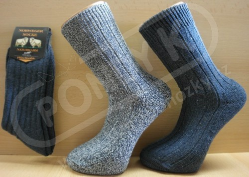 Zimní ponožky s vlnou efcde05e08