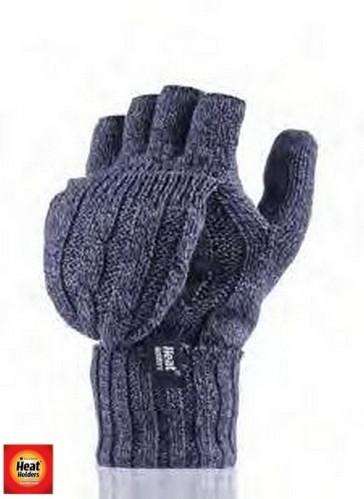 HEAT HOLDERS dámské rukavice bez konečků prstů zateplené UNI b53e96eccf