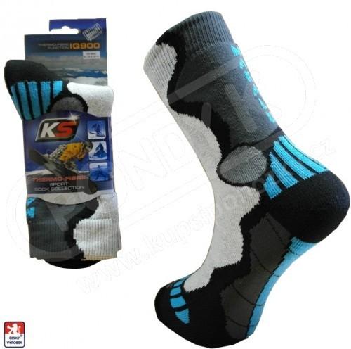 20dc160f8a8 Ponožky sportovní KS froté lyžařské