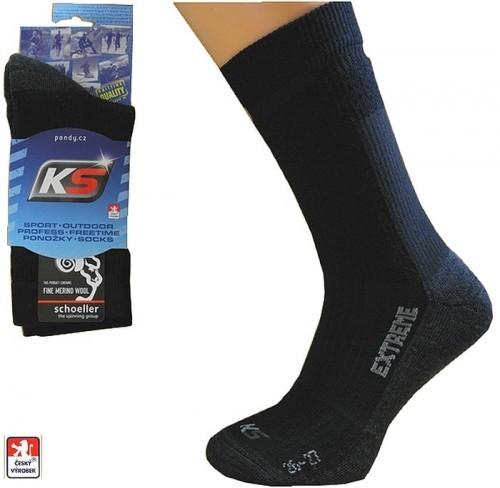 Ponožky MERINO vlněné pro zátěžové aktivity KS-THEX 7c02957d6b