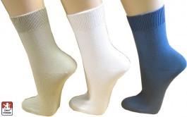 cf746955da2 Dámské ponožky 100% bavlna hladké 37-39 - Ponožky dámské