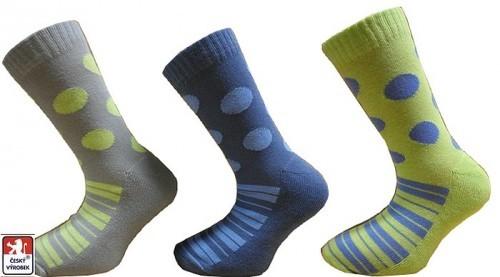 a02b7f8d7de Dětské ponožky PONDY.CZ polofroté 27-37