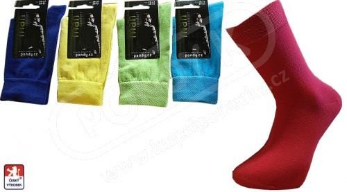 eab10c5b9a8 Pánské barevné ponožky PONDY.CZ 39-47