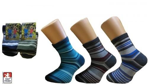 Ponožky dětské PONDY.CZ PRUHY 84f581836d