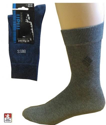 00cfb5c792c Ponožky PONDY.CZ pánské s drobným vzorem 39-49