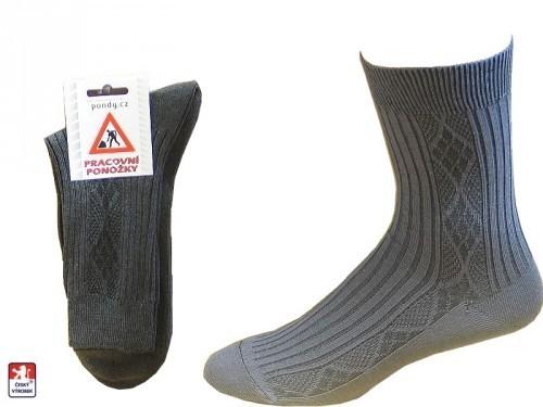Pánské ponožky PONDY.CZ pracovní RUBÁK 38-48 b6e9cd7b41
