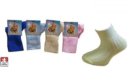 MIMI dětské ponožky PONDY.CZ 100 % bavlna df6adb6c1d