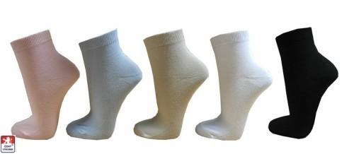Dámské ponožky PONDY.CZ kotníkové ELASTIK 37-41 5b11793d8e