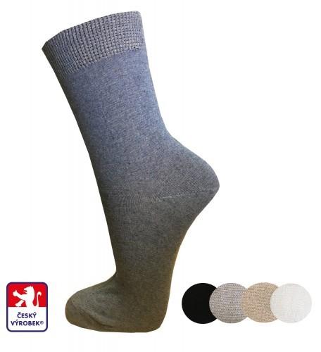 Ponožky dámské PONDY.CZ hladké 37-41 5d6d1e76ee