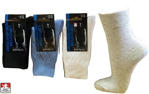 d2ab16a1727 Dámské klasické ponožky PONDY.CZ 37-41