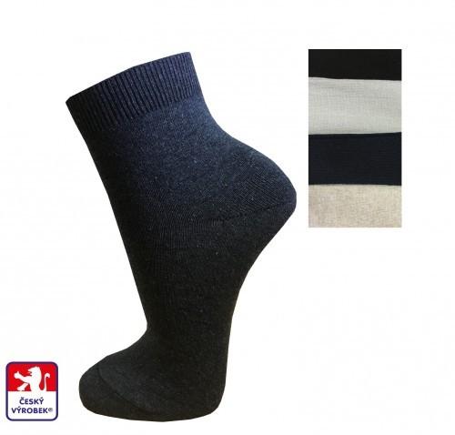 Dámské ponožky PONDY.CZ kotníková výška lemu 9a36f92eb7