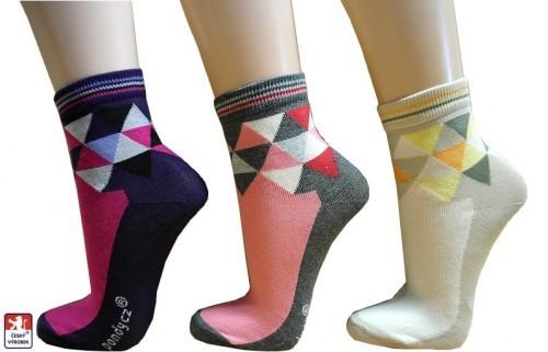 229ab7792d2 Dámské ponožky PONDY.CZ TRIANGLE 37-41