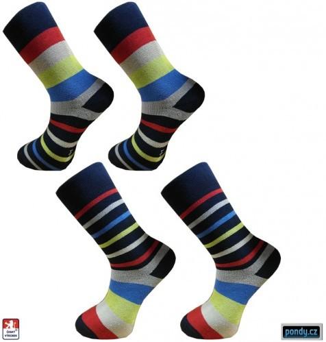 8d5db9994d8 Dámské froté ponožky PRUHY