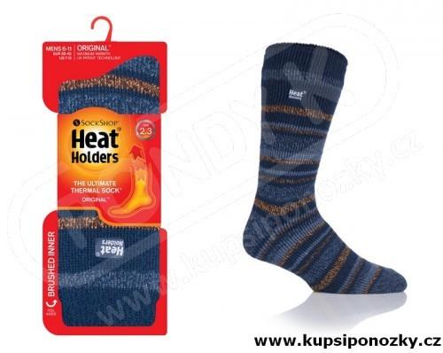 HEAT HOLDERS ponožky pánské PRUHY 4ad26d7937