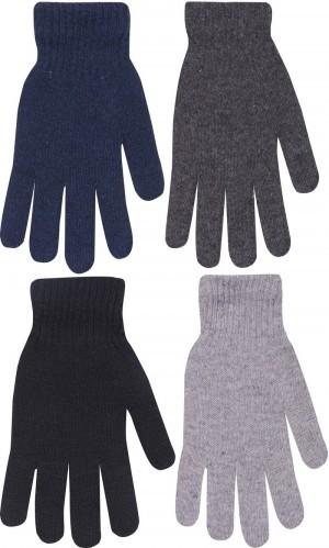 Dámské prstové rukavice elastické s vlnou 006f4e4fe4