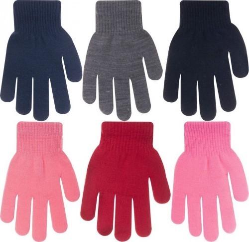 Dětské akrylové rukavičky hladké a1d87a3d2b