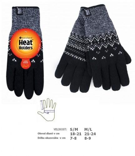 9439ee5b66a HEAT HOLDERS rukavice norský vzor TRONDHEIM