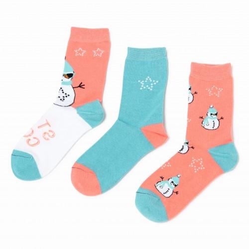 Dámské ponožky WILD FEET vzorované SNĚHULÁK 47b22a573c