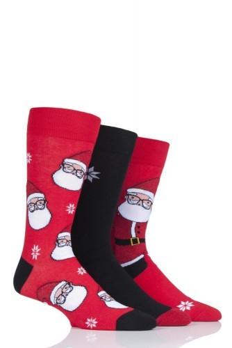 Pánské vzorované vánoční ponožky WILD FEET MIKULÁŠ 9f49d267a3