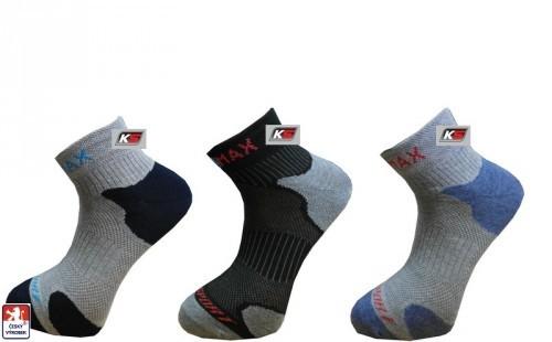 Ponožky sportovní KS COOLMAX pánské 8b617e6b14